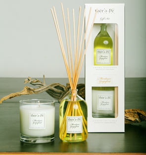 Therepe Candle & Reed Diffuser Gift Set