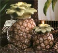 Sculpted Pineapple Candle - Pineapple Scented