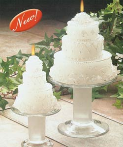 Wedding Cake Candle - Wedding   Cake Candle