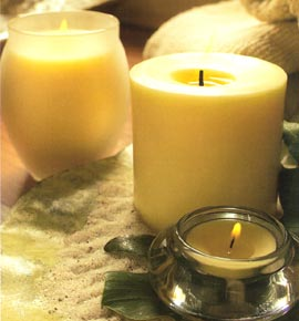 Energizing Soy Candles - 6-Pc Tealight Set