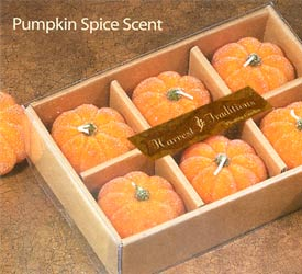 Frosted 6-Pc Pumpkin Set - 6-Pc Set