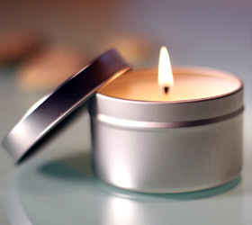 Therepe Scented Soy Tin Candles - Indian Chai