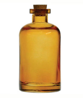 Amber Apothecary Reed Diffuser Bottle - 8 oz
