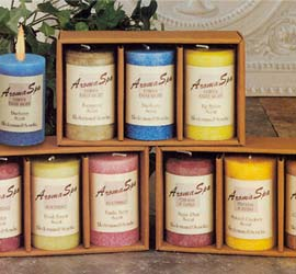 Aromatherapy Spa Candles - Soothing Assortment